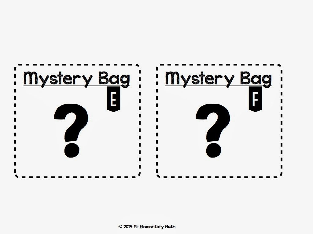 worksheet Mystery Number mystery bag number activities mr elementary math this is a picture of the labels