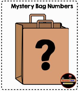 Mystery Bag Number Activities