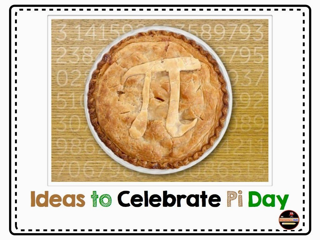 Pi Day ideas and resources