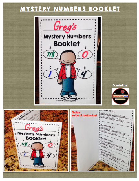 Mystery Number Booklet