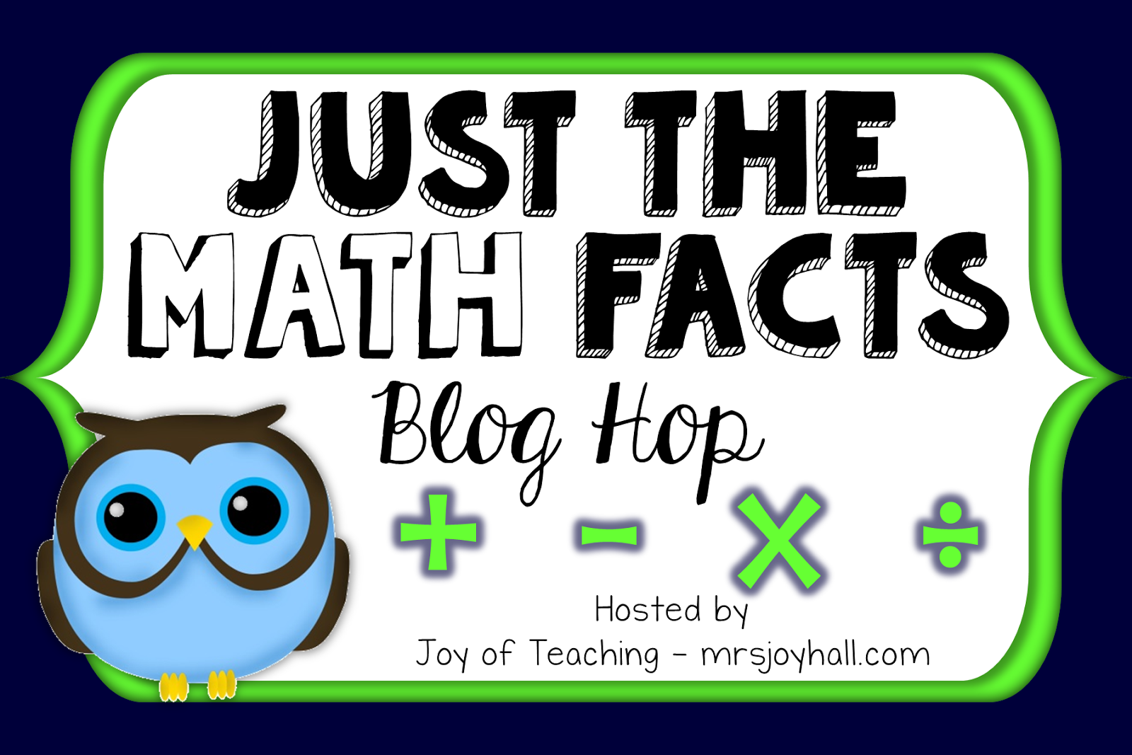 Just the Math Facts: Addition Facts Web Games - Mr Elementary Math