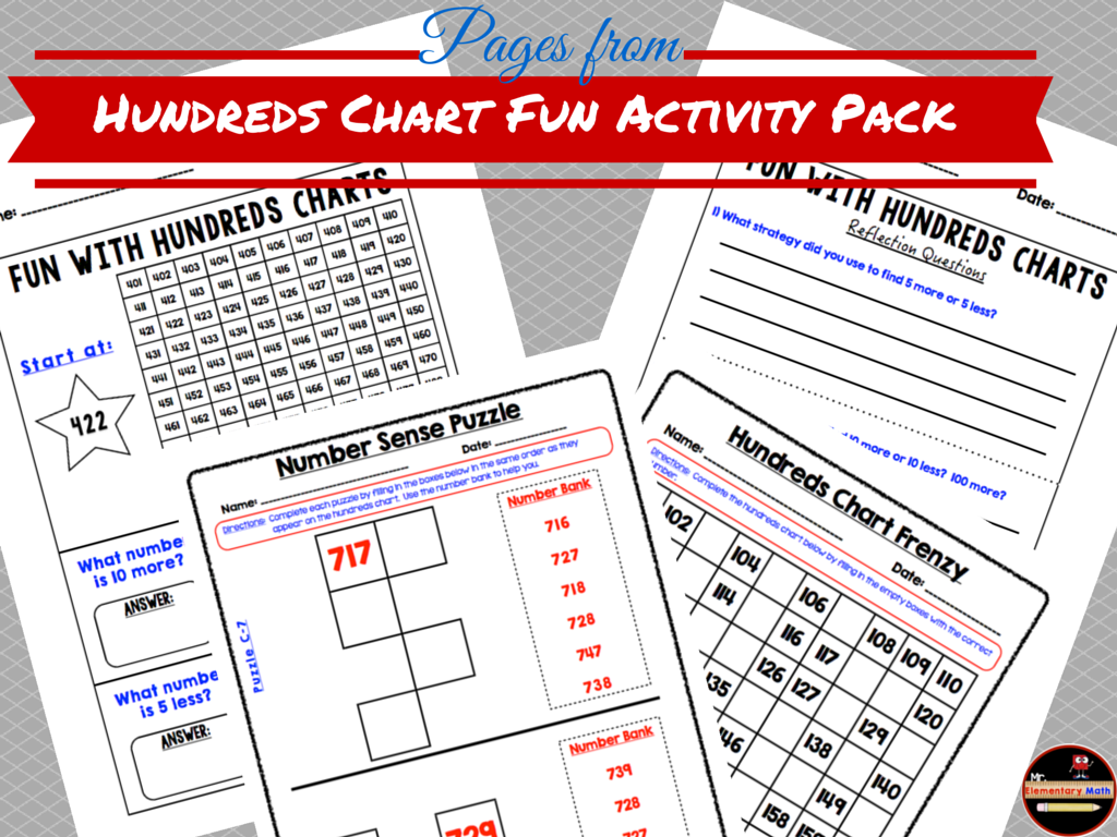 photos of Hundreds chart, mr elementary math, 1st grade, 2nd grade, 3rd grade