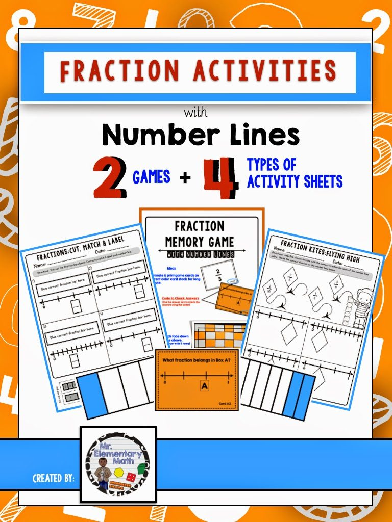 worksheet Numberlines thinking critically with fractions and number lines mr lines