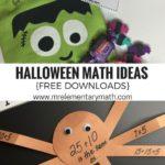 Fun math halloween activities that teach number sense and addition