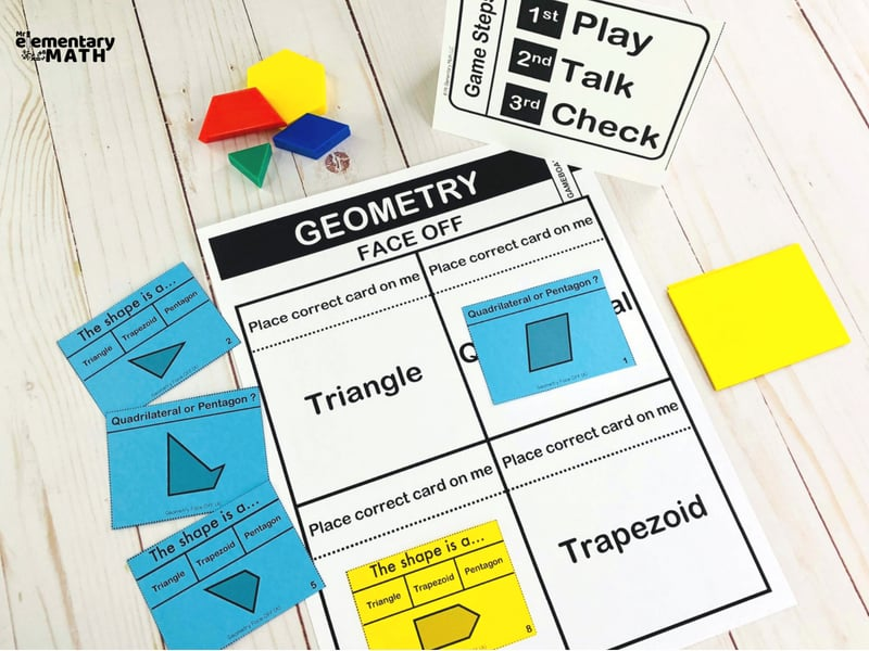 math games with step by step directions