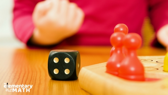 play math games to review math skills with students