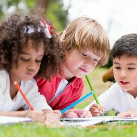play math games to review math skills and encourage cooperative learning