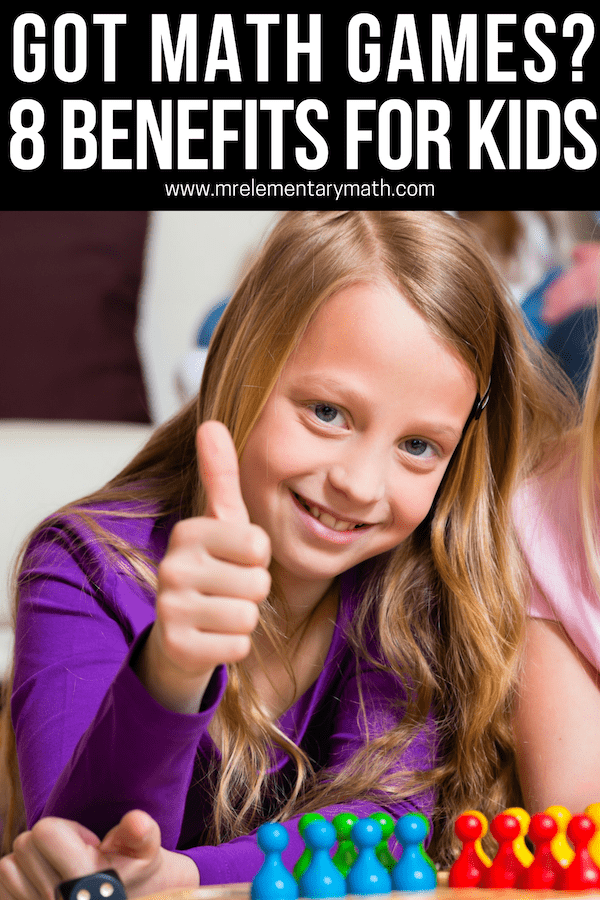 math games and benefits for kids