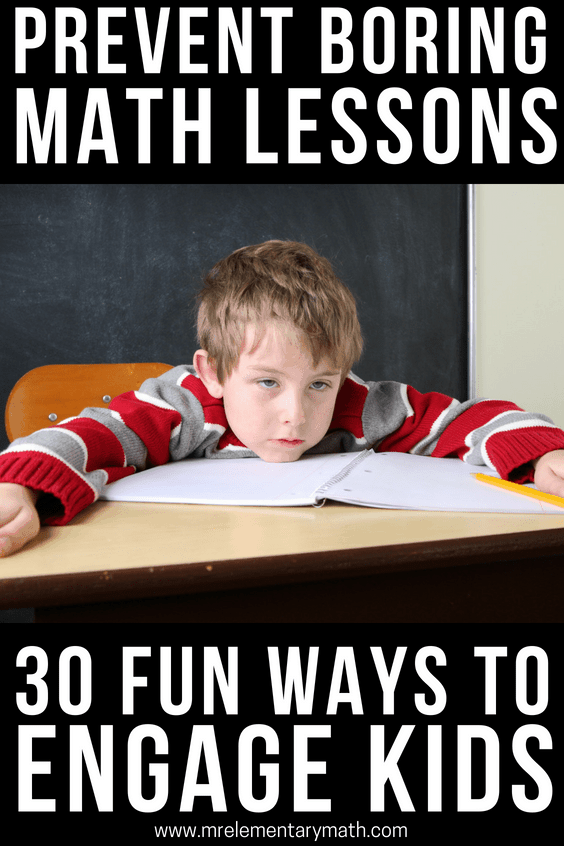 make math fun with 30 engaging activities