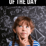 Math Problem of the Day: Questions That Get Kids Thinking