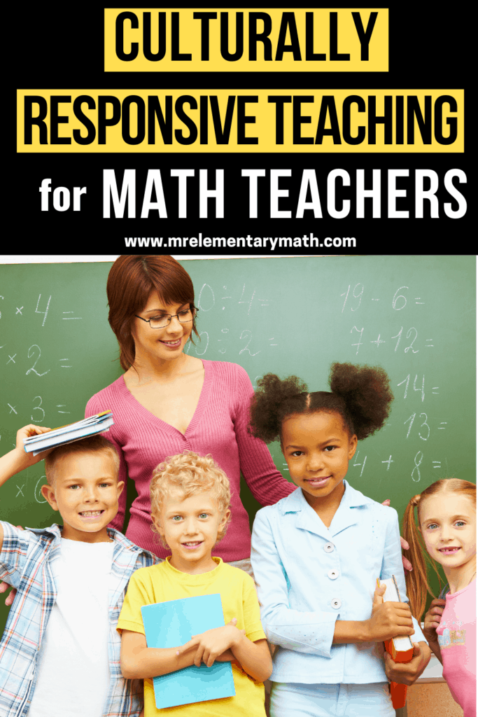 culturally responsive math teacher